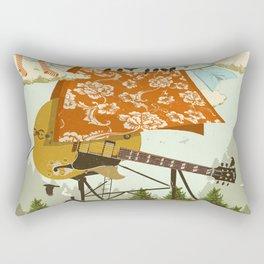 CABIN DOG Rectangular Pillow