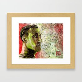 An Art Filled Life is Fine, Until Life Catches Up With You Framed Art Print