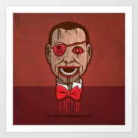 butcher billy Art Prints featuring Billy by Eric Koschnick