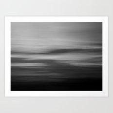 Sea & Sky abstract Art Print