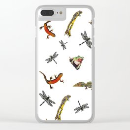 Let's go to the pond Clear iPhone Case