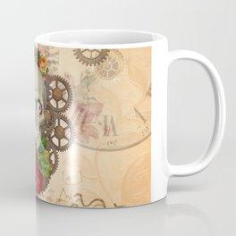 Steampunk Skull Coffee Mug