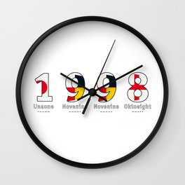 1998 - NAVY - My Year of Birth Wall Clock