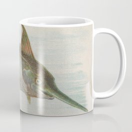Vintage Illustration of a Swordfish (1889) Coffee Mug