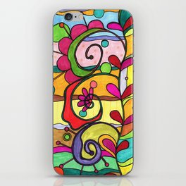 Land of Love and Color iPhone Skin