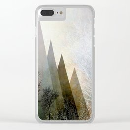 TREES IV Clear iPhone Case