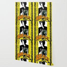 Vintage 1967 Bob Dylan Blonde on Blonde Concert Gig Poster Wallpaper