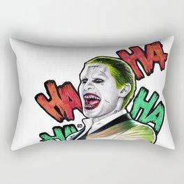 JOKER - Drawing colored pencil Rectangular Pillow
