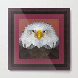 I am watching you. Metal Print