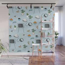 Friday Night Party {for introverts} Wall Mural