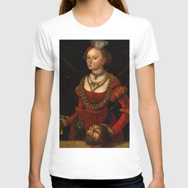 "Lucas Cranach the Elder ""Judith with the Head of Holofernes"" 1. T-shirt"