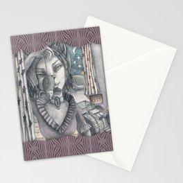 Cat metamorphosed Stationery Cards