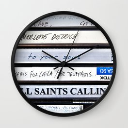 All Saints Calling Wall Clock