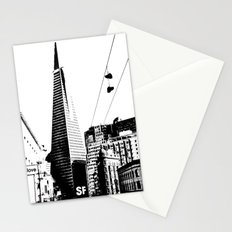 Love San Francisco Stationery Cards
