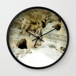 Rock Formation in Kentucky #1 Wall Clock