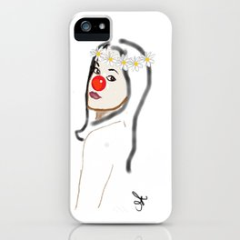 Rudolph Selfie - The Ghost of Christmas Present - The Christmas Spirit from A Christmas Carol iPhone Case