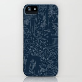 DC NYC London - Navy iPhone Case