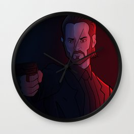 Baba Yaga Wall Clock
