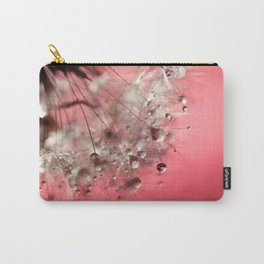 New Year's Pink Champagne Carry-All Pouch