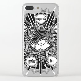 Seven.Deadly.Sins Clear iPhone Case