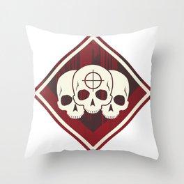 Triple Triple Achievement Badge from Apex Legends Throw Pillow