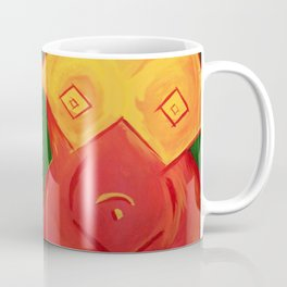 Cubist Bodice Coffee Mug