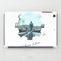 fallout iPad Cases featuring Fallout 4 by jorgeink