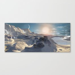 A Hypothetical Planet Orbiting Beta Hydrii Canvas Print