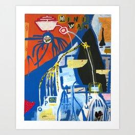 Pog Afterlife (Panel #5) Art Print