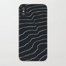 Contour Lines iPhone X Slim Case