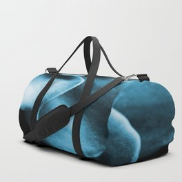 Succulent Leaves In Turquoise Color #decor #society6 #homedecor Duffle Bag