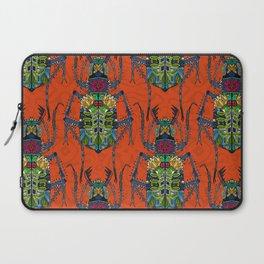 flower beetle orange Laptop Sleeve