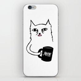 Tired Cat iPhone Skin