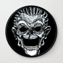 Dummy Skull Wall Clock