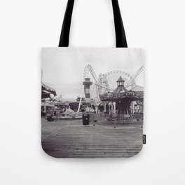 Wildwood Boardwalk Tote Bag