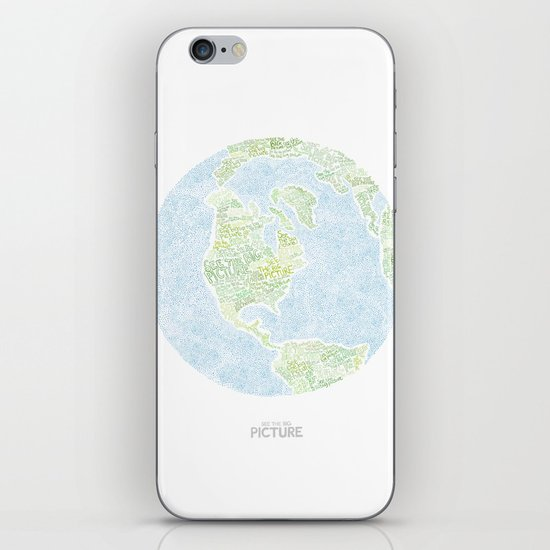 See the big picture iPhone & iPod Skin