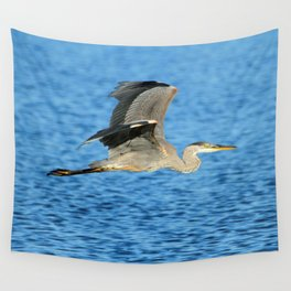 Skimming the lake Wall Tapestry