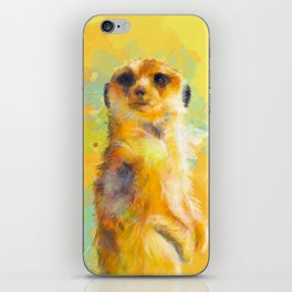 Dear Little Meerkat iPhone Skin
