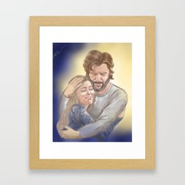 A Way Out of the Dark Framed Art Print