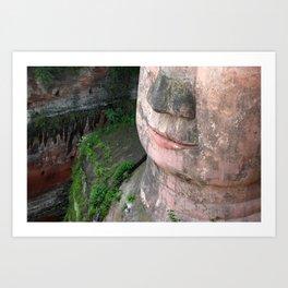 Buddha of Leshan, China Art Print