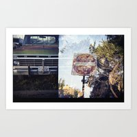ford Art Prints featuring Ford by Ryan Helfant