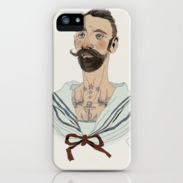Holy Mary of Drowned Sailors / 03 iPhone Case