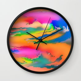 Soft and softer ... Wall Clock