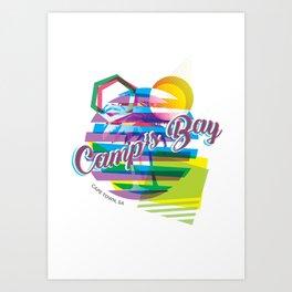 Camps Bay Art Print
