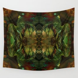The room of the caterpillar Wall Tapestry