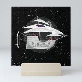 The S. S. Starblaster Mini Art Print