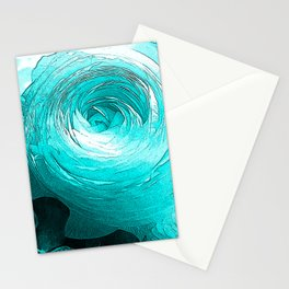 NL 14 2 Blue Rose Stationery Cards