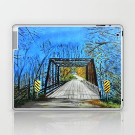 Old wooden bridge  Laptop & iPad Skin