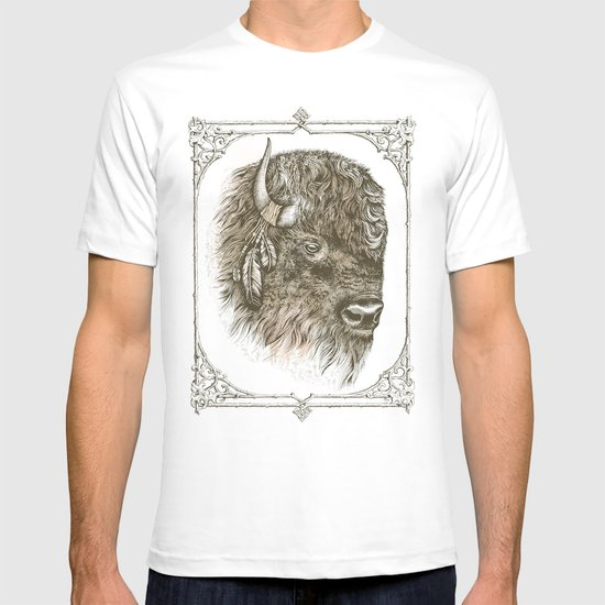 Portrait of a Buffalo T-shirt