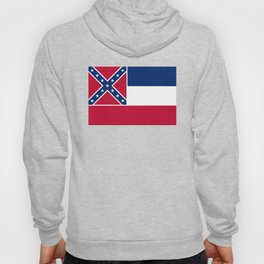 Mississippi State Flag, Authentic Version Hoody